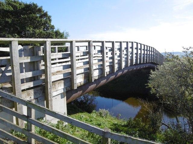 New bridge over the Till