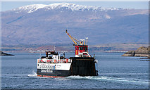 NM8530 : Loch Striven leaving Oban - March 2016 by The Carlisle Kid