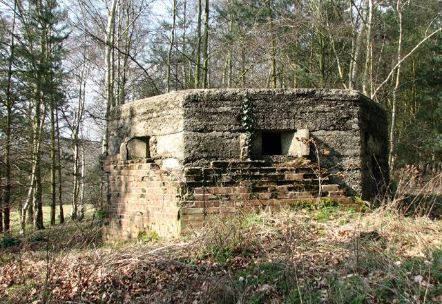 Type F22 pillbox near Bawburgh