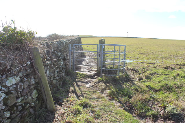 Kissing Gate on Path to Cruggleton Castle