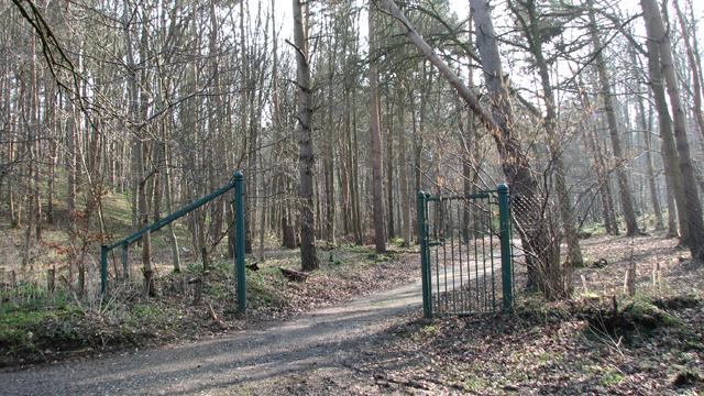 Gate into GreenAcres