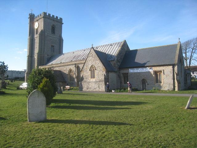 St. Andrew's church, Burnham on Sea