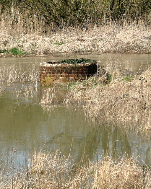 Redundant tank in the floodwater