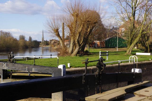 River Severn, Diglis
