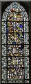 SK8251 : Reset medieval glass, St Giles' church, Balderton by Julian P Guffogg
