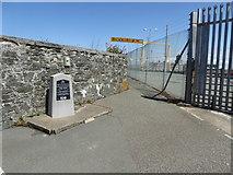 SH2482 : Memorial to Thomas Telford near the entrance to Salt Island by Eirian Evans