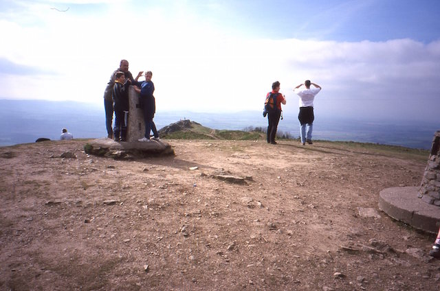 Triangulation pillar, Wrekin summit