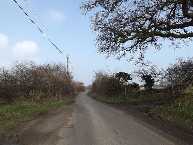 Eastbridge Lane & Bridleway