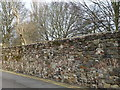 TF6220 : Remains of 13th century town wall in King's Lynn by Richard Humphrey