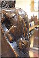 SK8251 : Rabbit poppyhead, St Giles' church, Balderton by Julian P Guffogg
