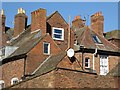 SO8454 : Rooftops on Worcester by Philip Halling