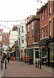 TQ8209 : George Street, Hastings by Julian Osley