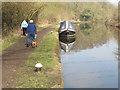TQ0586 : Enigma, narrowboat on Grand Union Canal near Denham by David Hawgood