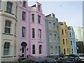 SN1300 : The Esplanade, Tenby - candy colours by welshbabe