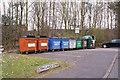NT2798 : Recycling bins by Richard Dorrell