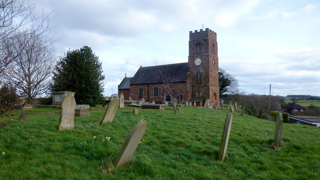 St. Chad's church, Montford