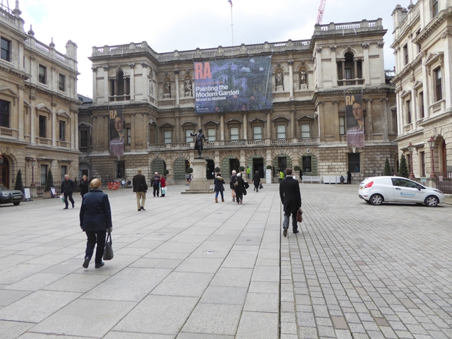 Courtyard of the Royal Academy of Arts