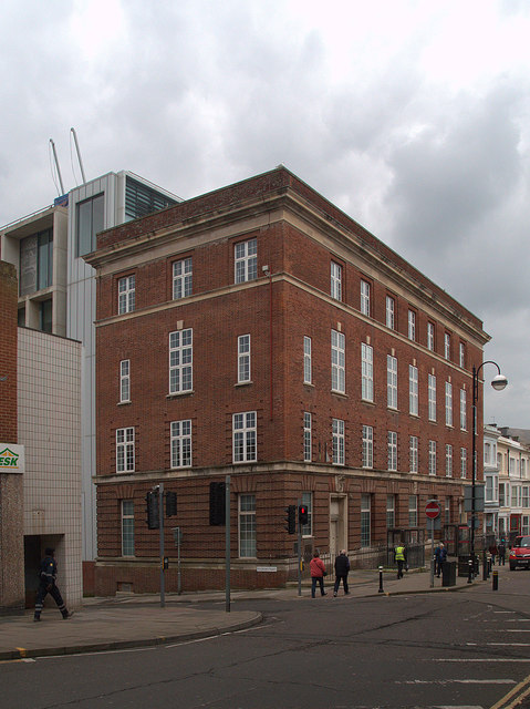 Post office and telephone exchange, Hastings