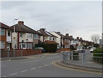 TQ1185 : Houses on the north side of Long Drive, South Ruislip by Christine Johnstone