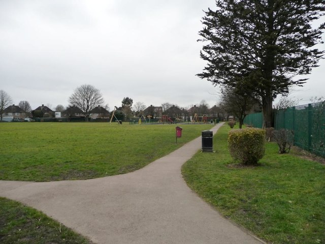 Recreation ground between Long Drive and The Fairway