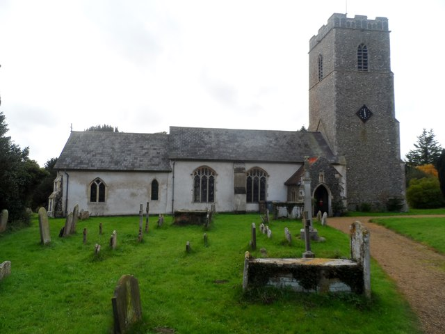 All Saints' church, Great Glenham