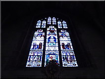 SO8554 : Worcester Cathedral: stained glass window (XXIV) by Basher Eyre