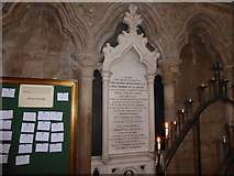SO8554 : Inside Worcester Cathedral (liii)  by Basher Eyre