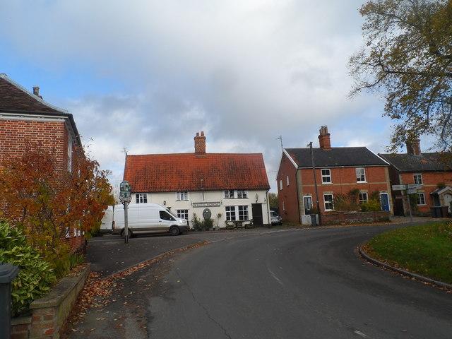 Rendham, the White Horse pub