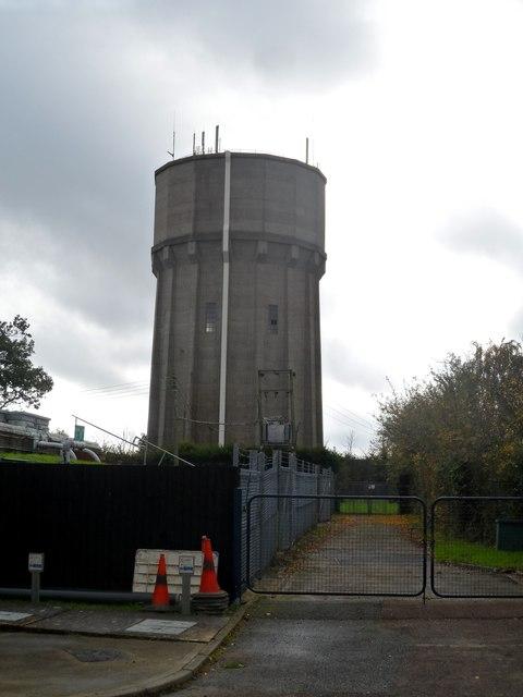 Saxmundham water tower