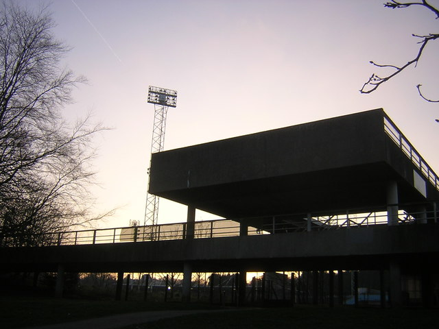 Entrance to the National Sports Centre, Crystal Palace Park