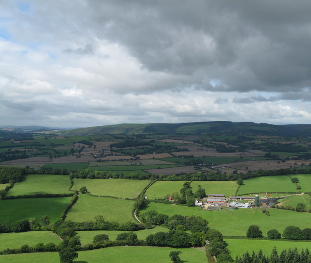 Flounders Folly to Moorwood-Lower Dinchope, Shropshire