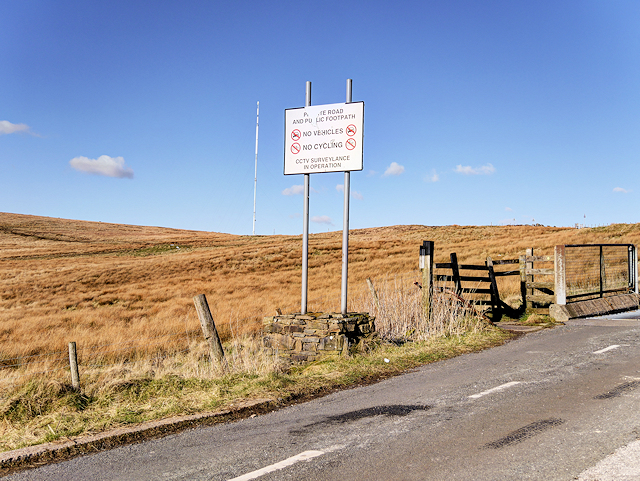 On the Road to Winter Hill