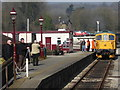 SK2854 : Ecclesbourne Valley Railway - arriving at Wirksworth by Chris Allen