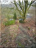 SE0421 : Footpath at Kebroyd, Ripponden by Humphrey Bolton
