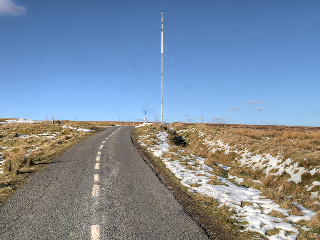 Winter Hill Transmitter Access Road