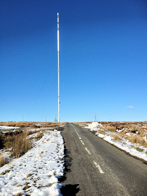 Rotary Way (Winter Hill Transmitter Access Road)