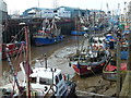 TF6120 : Fishing boats - The Fisher Fleet, King's Lynn by Richard Humphrey