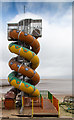 TA3009 : Helter Skelter on the beach, Cleethorpes by David P Howard