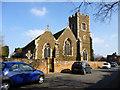 TL1238 : Campton church by Robin Webster