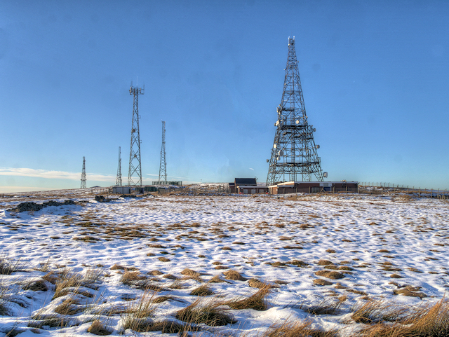 Winter Hill Transmitter Masts