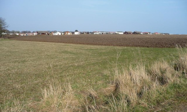 The southern boundary of South Shore Holiday Village