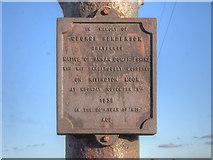 SD6614 : George Henderson Plaque, Scotsman's Stump by David Dixon