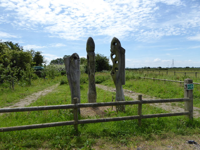 Sculpture, Magor Marsh