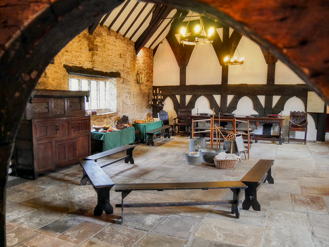 The Great Hall, Smithills Hall, Bolton