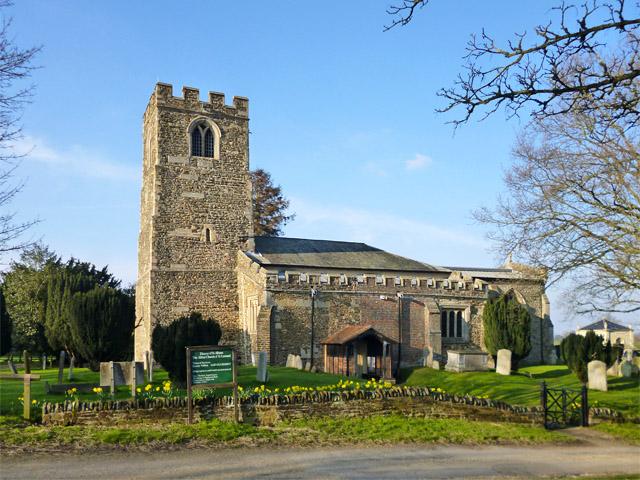 Old Warden church