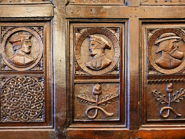 Relief Carvings, Smithills Hall Withdrawing Room