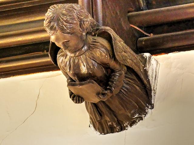 Ceiling Angel, Smithills Chapel