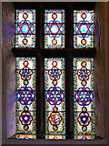 SD6911 : Stained Glass Window, Smithills Chapel by David Dixon