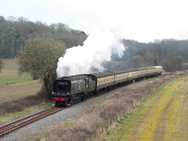 West Somerset Railway near Norton Fitzwarren