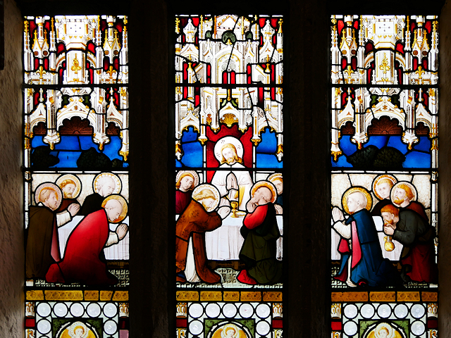 Smithills Chapel, Stained Glass Window Detail (1)